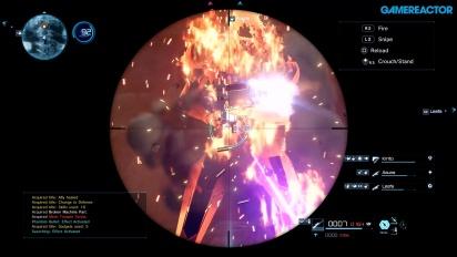 Sword Art Online: Fatal Bullet - TGS-pelikuvaa #2