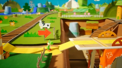 Yoshi's Crafted World - Features-traileri