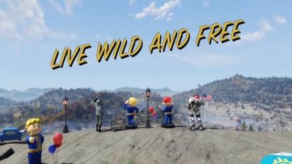 Fallout 76 Wild Appalachia -traileri