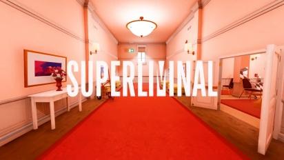 Superliminal - julkistustraileri