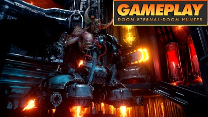 Doom Eternal - Doom Hunter Gameplay