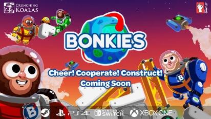 Bonkies - Cheer! Cooperate! Construct! -pelikuvatraileri