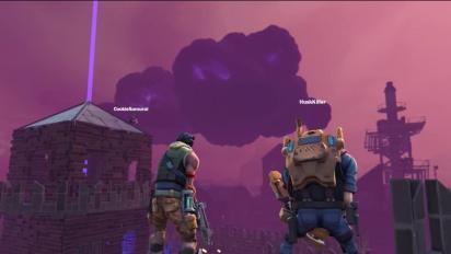 Fortnite - Defending the Fort gameplay