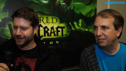 World of Warcraft: Legion - Chris Robinson & John Hight -haastattelu