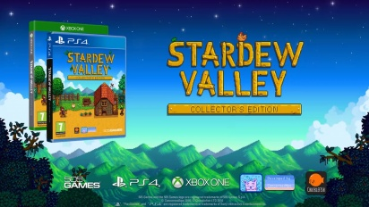 Stardew Valley - Retail Collector's Edition -ilmoitus