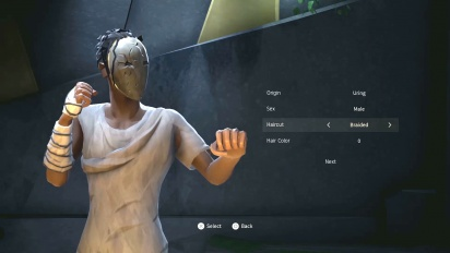 Absolver - Character Customisation -traileri