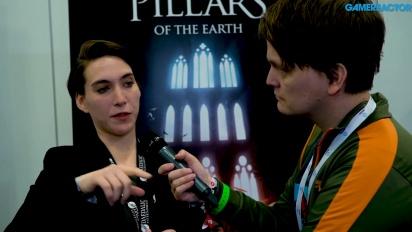 The Pillars of the Earth - Valentina Tamer haastattelussa