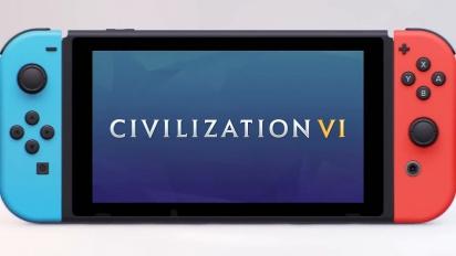 Civilization VI - Nintendo Switch -julkistustraileri