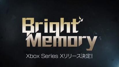 Bright Memory - Xbox Series X -julkistustraileri