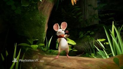 Moss - PlayStation VR pelikuvan julkistustraileri