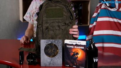 Shadow of the Tomb Raider - Prize Unboxing (Nordic Competition)