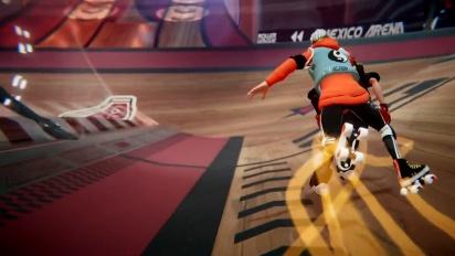 Roller Champions - pelikuvatraileri