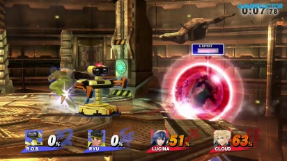 Super Smash Bros. for Wii U: 2v2 For Glory Advanced Online -pelikuvaa