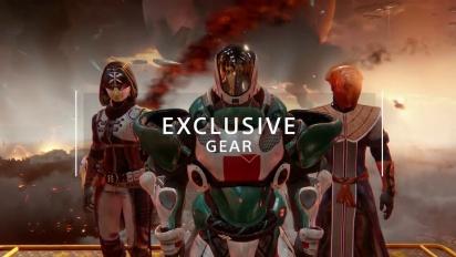 Destiny 2 - Playstationin yksinoikeussisällön traileri