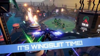 Crackdown 3 - Flying High -päivityksen traileri