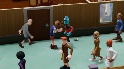 Two Point Hospital: Close Encounters - DLC-paljastus