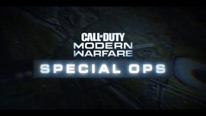 Call of Duty: Modern Warfare - Special Ops -traileri