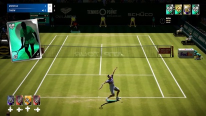 Tennis World Tour 2 - Features Traileri