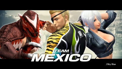 King of Fighters XIV - Team Mexico -traileri