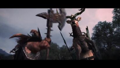 Total War Warhammer - Realm of the Wood Elves -julkistustraileri