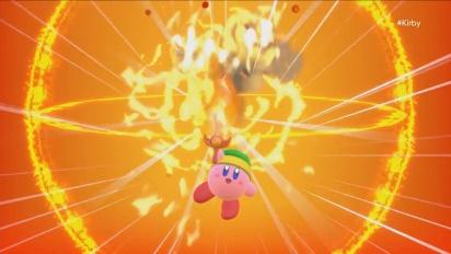 Kirby Nintendo Switchille - E3 2017 -julkistustraileri