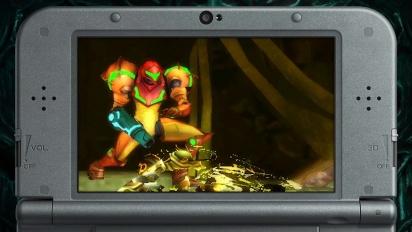 Metroid: Samus Returns - virallinen pelitraileri
