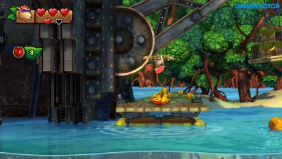 Donkey Kong Country: Tropical Freeze for Nintendo Switch - Level 1-1 Funky Kong -pelikuvaa