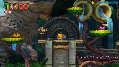 Donkey Kong Country: Tropical Freeze for Nintendo Switch - Level 1-3 -pelikuvaa