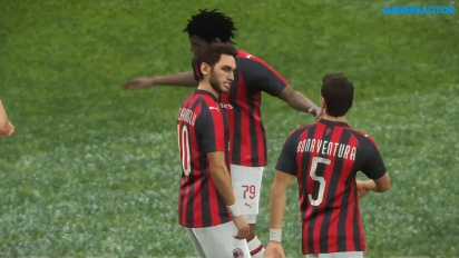 PES 2019 - Inter - Milan-pelikuvaa