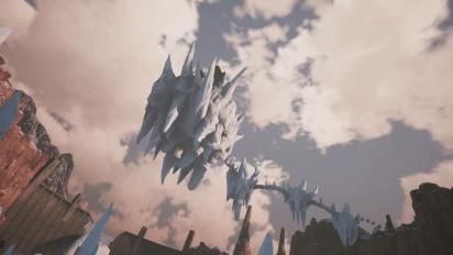 Fade to Silence - Shuttle Landing -pätkä