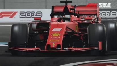 F1 2019 - Anniversary Editionin julkaisutraileri