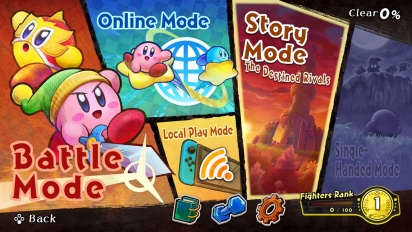 Kirby Fighters 2 - Nintendo Switch Launch Traileri