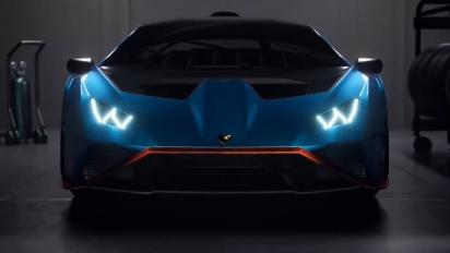 Rocket League - Lamborghini Huracán STO -traileri