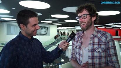 The Talos Principle & FTL - Tom Jubert haastattelussa Gamelabissa 2015