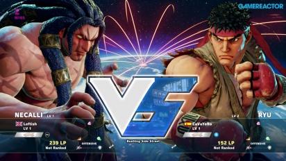 Street Fighter V -betapelikuvaa: Necalli vs. Ryu
