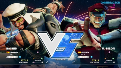 Street Fighter V -betapelikuvaa: Rashid vs. M. Bison