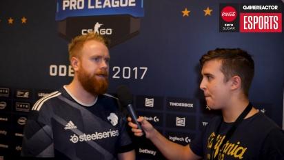 ESL Pro League Finals - Ruggah haastattelussa