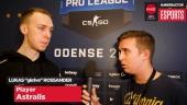 ESL Pro League Finals - Gla1ve haastattelussa