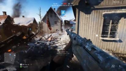 Battlefield V - Grand Operations PC NVidia -pelikuvaa