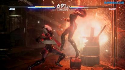 Dead or Alive 6 - Ayane vs. Kasumi -pelikuvaa