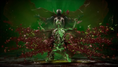 Mortal Kombat 11 - Spawn Gameplay Traileri