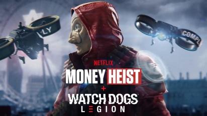 Watch Dogs: Legion - Money Heist -julkaisutraileri