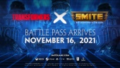 Smite X Transformers Battle Pass Traileri