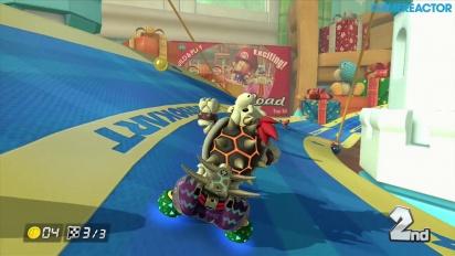 Mario Kart 8 - DLC Pack 2 -pelikuvaa: Bell Cup