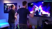 Just Dance 2016 - Dóri tanssii ja haastattelee pelin tekijöitä