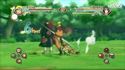 Naruto Shippuden: Ultimate Ninja Storm Generations - ensimmäiset 10 minuuttia