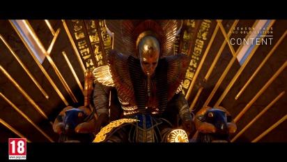 Assassin's Creed Origins - Post-Launch Season Pass Content -traileri