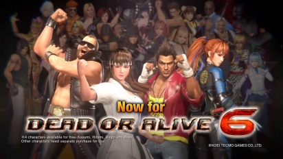 Dead or Alive 6: Core Fighters - julkaisutraileri