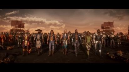 Mortal Kombat 11: Aftermath - virallinen julkaisutraileri