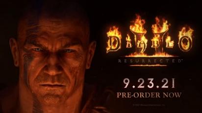Diablo II: Resurrected - Barbarian Class -traileri